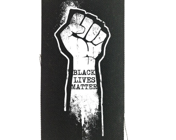 Black Lives Matters Patch | Human Rights |  Backpack Patch | Jean Jacket Patch | Protest Patch | Political Statement | Anti-Greed