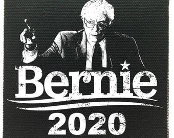 Bernie Sanders Silhouette Patch