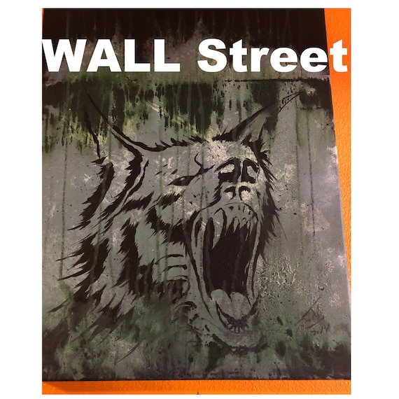 Coming Soon  - Painting Wall Street