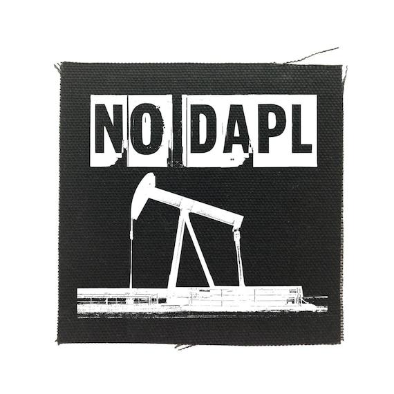 No DAPL Protest Patch, Protest Dakota Access Pipeline, Water Protectors Patch, No Pipeline, Water Is Life, Resist