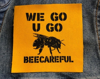 Save The Bees Patch For Jackets, Insect Patch, Bee Kind Patch, Beekeeper Gift, Honey Bee Patch, Bee Lovers Gift, Queen Bee Patch, Animal