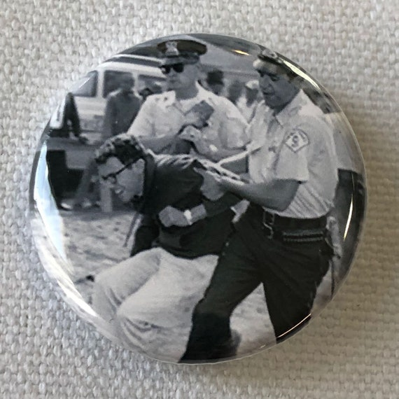 Bernie Sanders Protest Button, Bernie Sanders For President, Revolution, Resist
