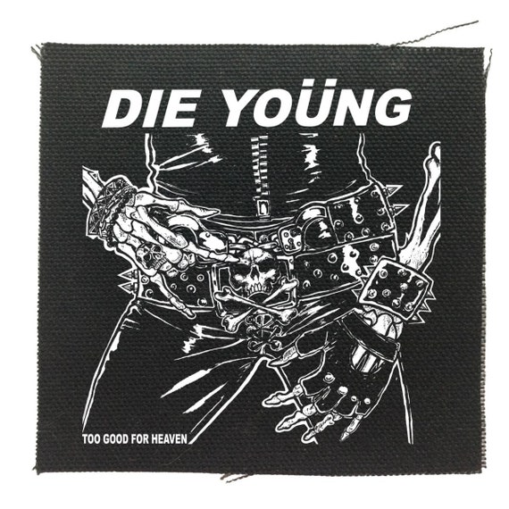 Motley Crue Die Young Patch | Motley Crue | Rock Patch | Music Band Patch | Shout at the Devil | Punk Patch | 80's Patch