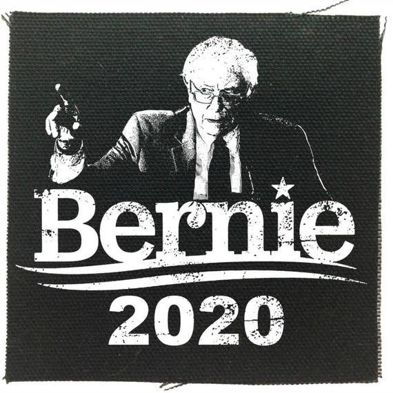 Bernie Sanders 2020 For President, Bernie Patch, Resist, Tulsi Patch