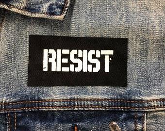 Resist Patch, Protest Patch, Black Lives Matter Patch, Small Cloth Patch, Daunte Wright Patch, Punk Patch, Anti Trump Patch, Jacket Patch