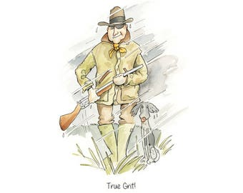 Limited Edition Print: True Grit