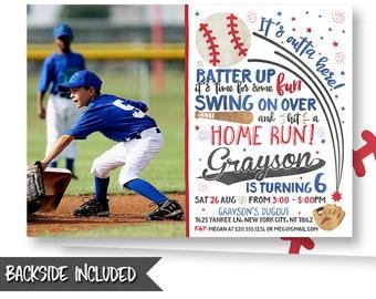 2b24ffc12cc Baseball Picture Invitation