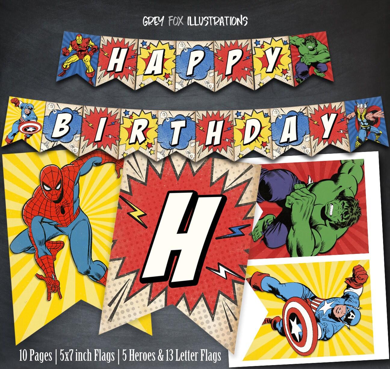 окончанию поздравления в стиле комиксов на день рождения более распространен отлов