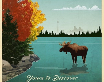 Ontario Travel Poster