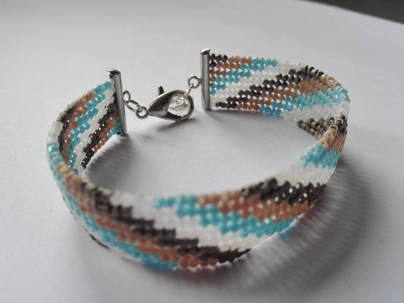 Hand woven Miyuki Beads Bracelet