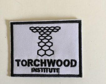 Torchwood Doctor Who Inspired Patch Iron On Sew On