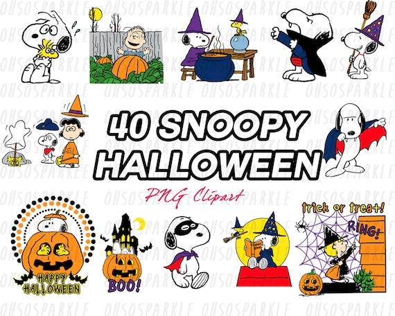 snoopy clipart halloween clipart clip art peanut clipart etsy