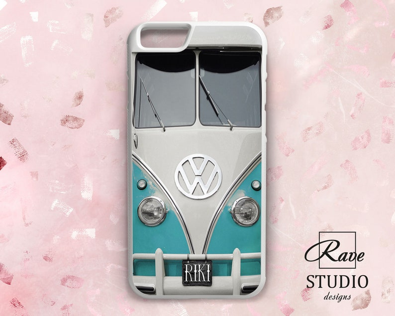 Volkswagen Bus Decor Iphone 8 Iphone 7 Case Rubber Iphone Case Etsy