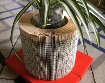 Wood-based paper pot
