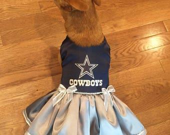 Dallas Cowboys Dog Dress 11a061d37