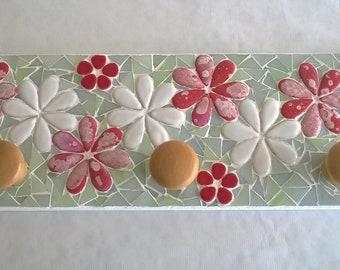 Mosaic wall rack