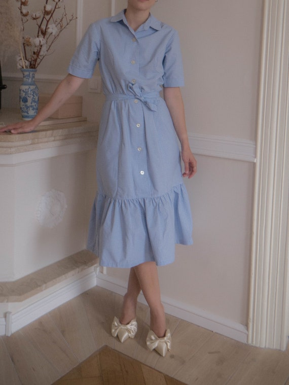Baby Blue Vintage Dress