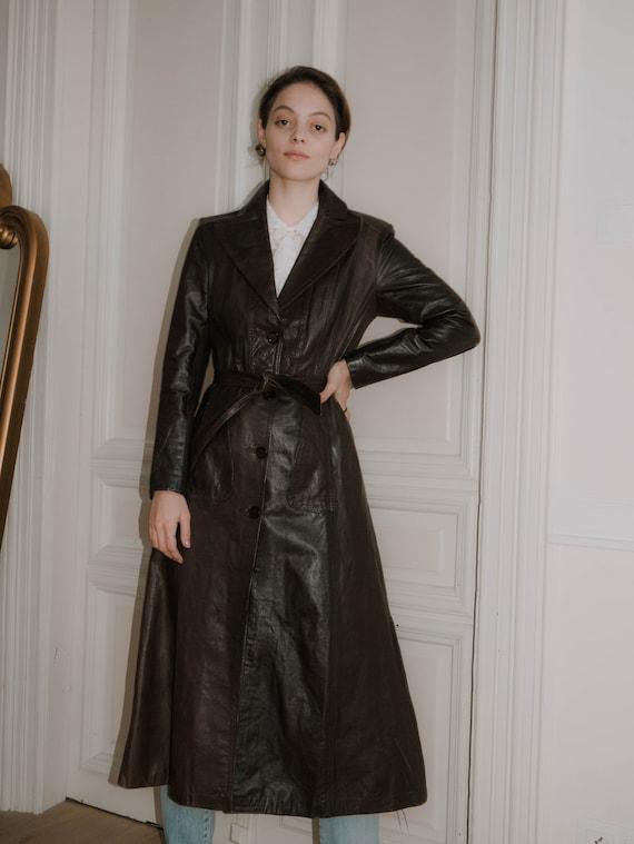 1990s Leather Coat