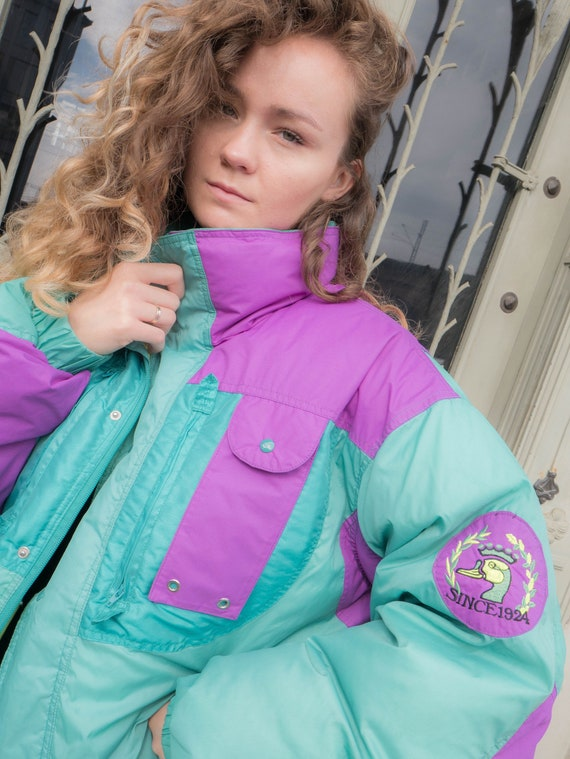 1980s Goose Feather Puffer