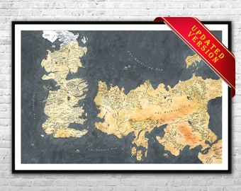 Westeros map canvas | Etsy on game.of thrones s3 poster, silicon valley map poster, red dead redemption map poster, dark souls map poster, walking dead map poster, grand theft auto v map poster, supernatural map poster, united states map poster, community map poster, life map poster, fallout new vegas map poster, gravity falls map poster, skyrim map poster, world of warcraft map poster, hobbit unexpected journey map poster,