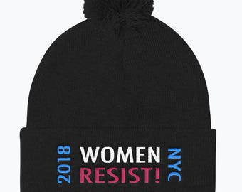 Women's March 2018 NYC RESIST Hat
