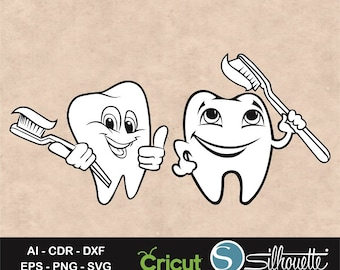 Teeth Svg, tooth svg, Teeth clipart, Kids teeth svg, tooth fairy svg, clipart, Dentist svg, dentist svg, stencil, vinyl, silhouette, cricut
