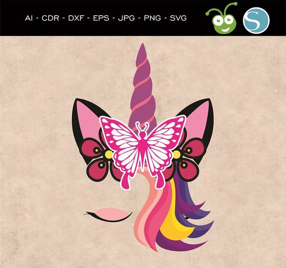 Unicorn Face Svg, Unicorn svg, Unicorn head svg, Unicorn Cut file, Cute  Unicorn svg, Unicorn clipart, Unicorn Silhouette, Unicorns svg