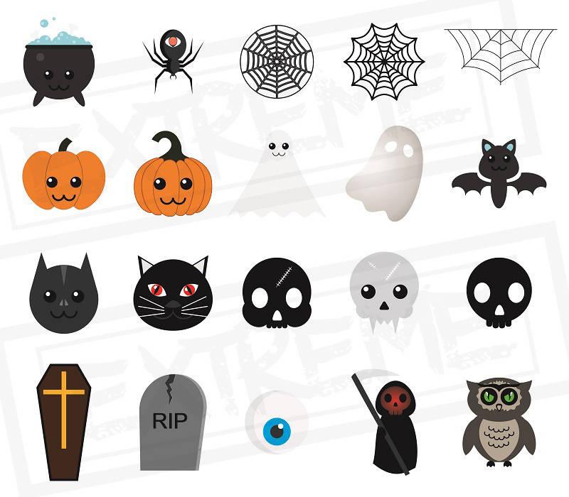 20 Halloween Characters Halloween Emoji Halloween Clipart ...