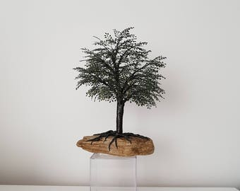 """Wire tree """"Patience"""""""