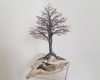 """Wire Tree """" Pink Pearl"""""""