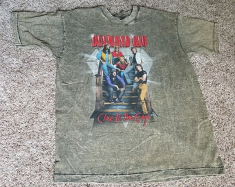 RARE!!! Vintage 90s Diamond Rio Single Stitch Overdyed Concert Tour T Shirt