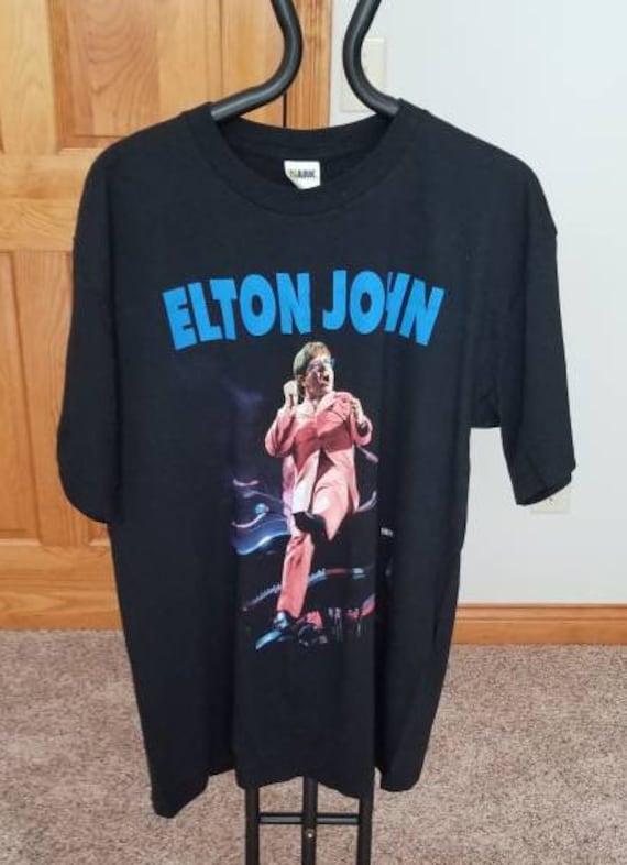 Vintage 90s Elton John Concert T Shirt