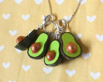 37e983cfc7334 Polymer clay avocado | Etsy