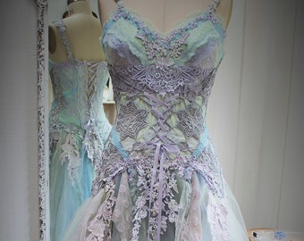 Fairy wedding dress etsy junglespirit Image collections