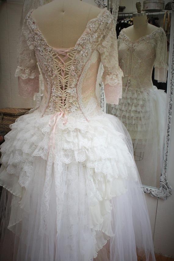 Marie Antoinette Wedding Renaissance Wedding Dress Fantasy Etsy