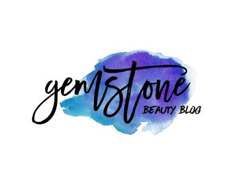 Watercolor Blog Logo / Watercolor Logo / Custom Blog Header Design / Photography Logo / Makeup Artist Logo / Artist Logo / Art Gallery Logo