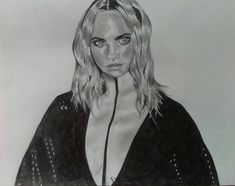 Cara Delevingne Illustration