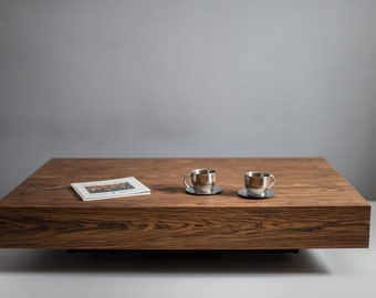 modern square coffee table. Modern Low Profile Square Coffee Table