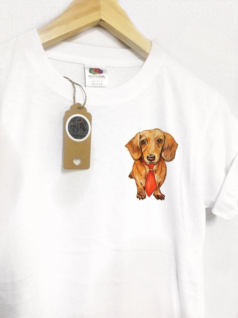 Teckel chien t-shirt