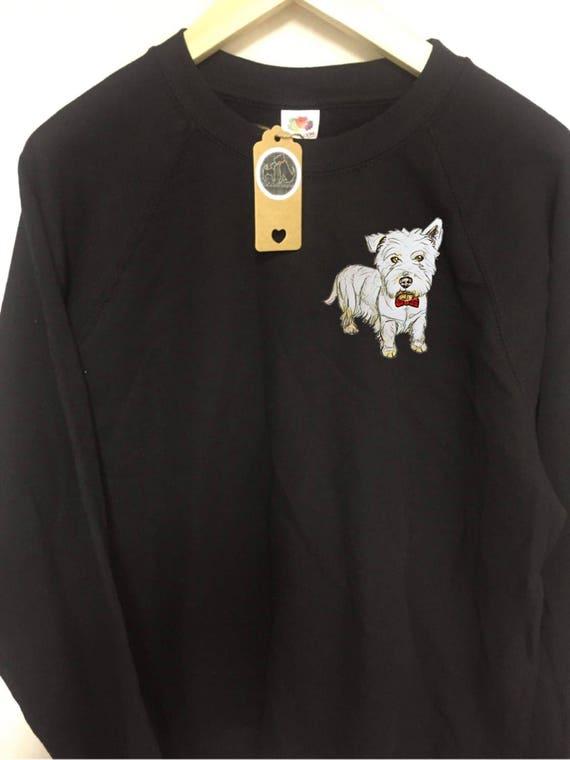 Nueva Bufanda Border Terrier con perros en Señoras Impreso perro amante Bufanda De Regalo De Navidad