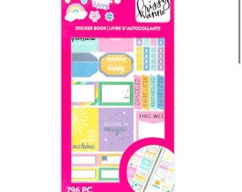 Craft Smith Krissyanne Designs Sticker Book - Rainbow  796 pc
