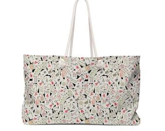 Mahjongg Weekender Bag