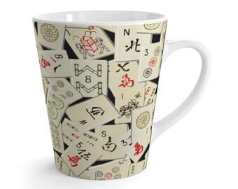 Mahjongg Rocks Latte mug