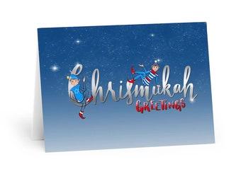 Chrismukah Holiday Greeting Card Printable