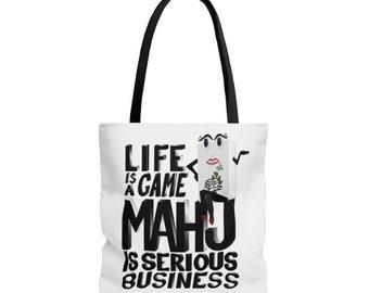 Mahj is Serious Business Mahjongg Tote Bag