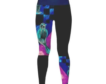 Yoga Workout Unique Leggings Capris Woman/'s Bicycle Gifts Exercise Pants Printed Leggings Vintage Bicycle Leggings Cycling Leggings