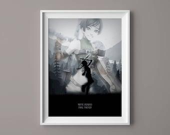 A4 A3 A2 A1 A0  Final Fantasy The Zodiac Age Game Poster Print T735