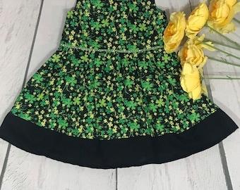 St. Patricks Glitter Dress