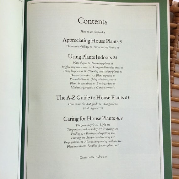 Pleasant Vintage Success With Houseplants Guide Book How To Care Guide For Indoor Plants Interior Design Ideas Clesiryabchikinfo