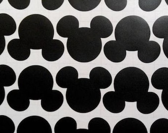 30  Mickey Stickers - Mickey Party Sticker - Mouse Wall Decal - Kids Playroom - Disney Birthday - Removable Wall Stickers - Disney Party